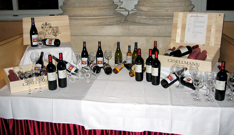 Café Gloriette - wine selection